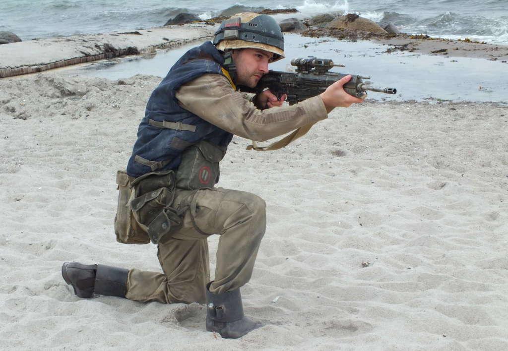 German Base Yavin Baubericht Scarif Marine aus Rogue One