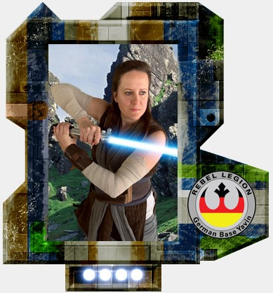 ScienceGal im Rey Battle-Outfit