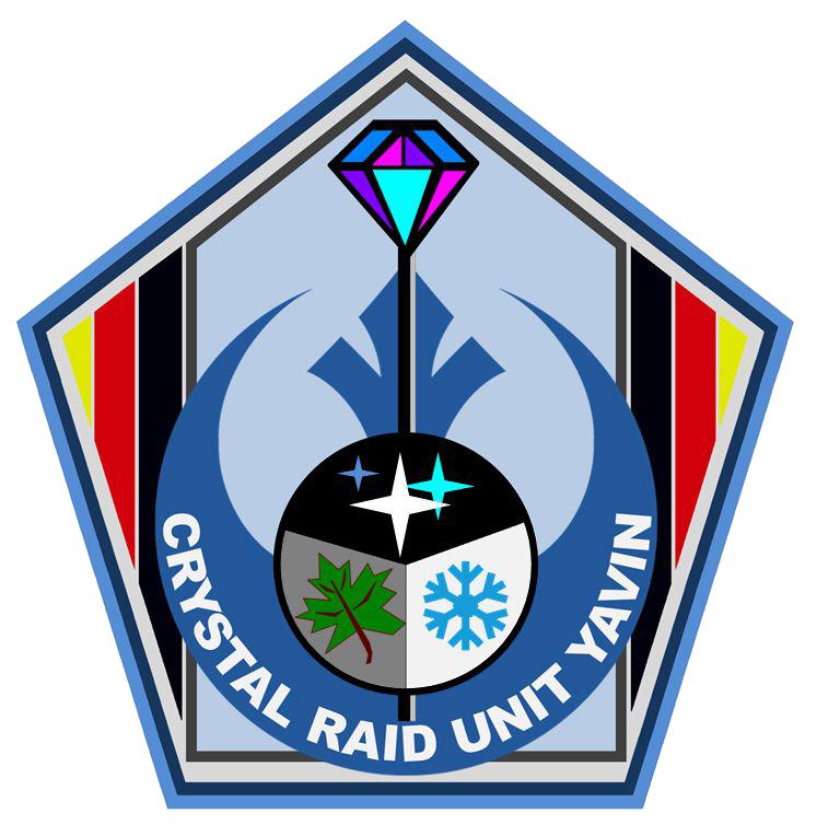 RL GBY Crystal Raid Logo