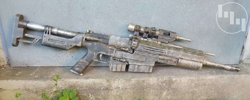 Baubericht Scarif Marine aus Rogue One Der Blaster A280CFE